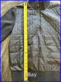 100% Authentic Moncler Mens Grenoble Zip Sweater Size Medium NWOT