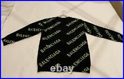 $1200 Balenciaga Cardigan Sweater