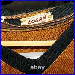 1950's Vintage Lane Tech High School Chicago Letterman Sweater Size Medium