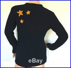 $2,290 Valentino Super H Superman Icon Comicon Dress Jumper Sweater 6 8 / Medium
