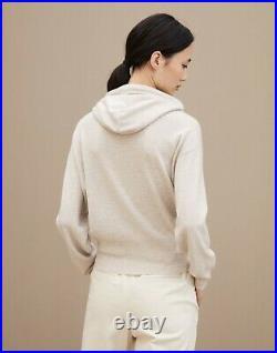 2019 Brunello Cucinelli Cashmere Sweater with Hoddie Size M