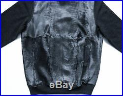 $6775 BRIONI Karakul Persian Lamb Astrakhan Fur Turtleneck Sweater Size 50 Euro