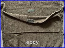 90's HELMUT LANG Vintage ITALY Sweater Wool ARCHIVE Green Small Military