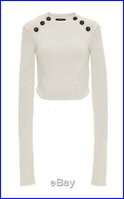 $905 ISABEL MARANT Runway Huston Wool Sweater SZ 34 XS RARE Mainline Hatfield