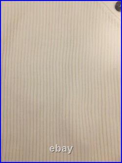 ACNE STUDIOS Kabby Rib-Knit Mockneck Sweater White Size M Orig. $470 NWT