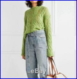Acne Studios Kelenal Sweater Green NWOT size M