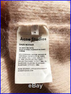 Acne Studios mohair daze sweater RRP $600