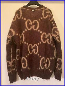 Auth Gucci 2020 Reversible Oversized Cardigan Sizem Us6 Us8 2.9k