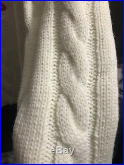 Authentic Fendi Braided Knit Sweater
