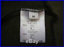 Authentic Givenchy Khaki Green Diagonal Stripes Jumper Sweater Size Medium