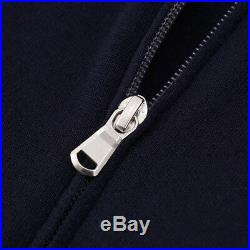 BRUNELLO CUCINELLI Lightweight Wool-Cashmere Zip Cardigan Sweater M (Eu 50) $945