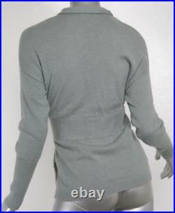 BRUNELLO CUCINELLI Womens Cashmere Button-Snap Cardigan Sweater Jacket M
