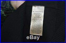BURBERRY Black Merino Wool Logo Sweater Size M SS19 RRP $790