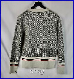 Brooks Brothers Black Fleece x Thom Browne Check Wool Cashmere Cardigan M Size 2