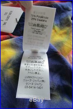 CELINE Turtleneck Sweater Stretch Tie Dye Top M