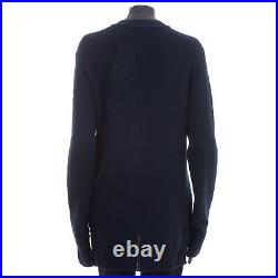CELINE by Phoebe Philo 1440$ New Blue Cardigan In Fine Lightweight Cashmere