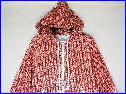 CHRISTIAN DIOR hoodie sweatshirt sweater women pink white red monogram M S US8