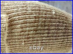 Celine Alpaca Creme Knit Roll Neck Sweater Size S