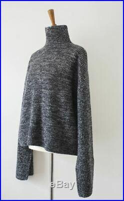 Celine Oversized Cashmere Sweater (Dark Grey)