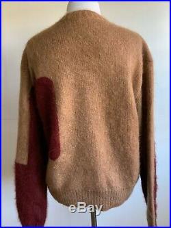 Celine Phoebe Philo Mohair Color Block Sweater