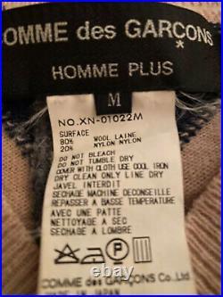 Comme Des Garcons Homme Plus Argyle Knit Sweater Sz M