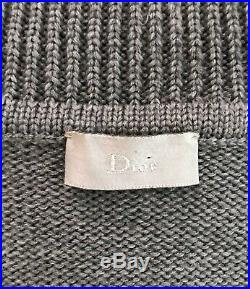 DIOR HOMME AW03 wool JUMPER luster HEDI SLIMANE rare SWEATER £1200 bnwt NEW M