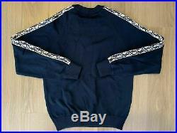 Dior Oblique Stripe Sweater navy blue sz M medium