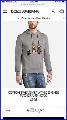 Dolce gabbana mens sweater