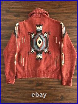 Double RL Ralph Lauren Beacon Navajo Cardigan