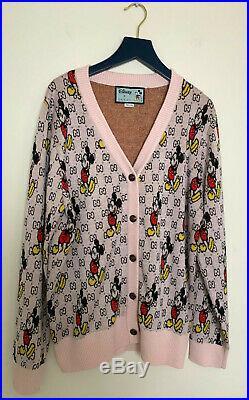 GUCCI sweater Disney x Gucci wool cardigan size M