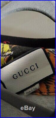 Gucci Tiger Sweater Lady Size XL Mens Medium