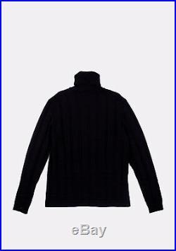 Hermes Paris Wool Turtleneck Men Sweater Size M