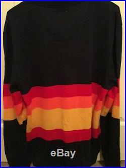 Houston Astros 1986 Mitchell & Ness Rainbow Throwback Sweater Medium Kate Upton