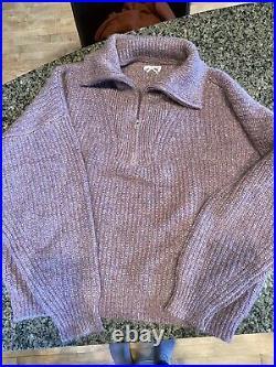 Isabel Marant'Etoile Myclan zipper sweater women's size fr 42 NWOT (M)
