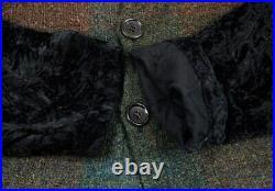 JUNYA WATANABE COMME des GARCONS Velvet Sleeve Cardigan Size S-M(K-90642)