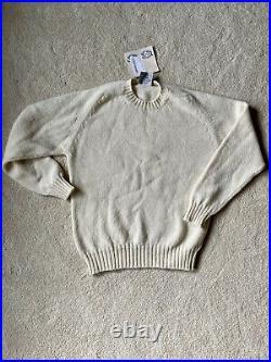 Jamiesons of shetland Wool Crew Knit Sweater NEW m