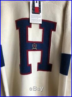 KITH x TOMMY HILFIGER H Sweater 100% Authentic 100% Wool Size Medium