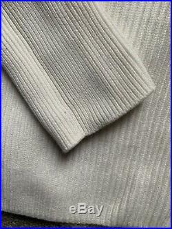 Khaite Selena Ivory Off White Wool Sweater M EUC