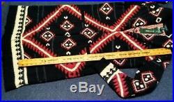 LAUREN Ralph Lauren Heritage Blanket Pattern Cardigan Sweater Southwestern Sz M