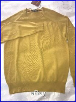 Loro Piana Sweater, Mens Cashmere Jumper, Size 52