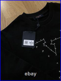 Louis Vuitton LV Stitch Print Embroidered Sweatshirt 1a84ls M