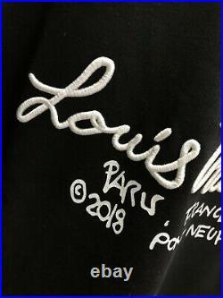 Louis Vuitton Men's Embroidered Sweatshirt