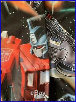 Moschino Transformers Jeremy Scott Sweater Crewneck M Medium All Over Print