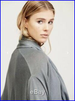 NEW $395 Nicholas K Serius Pullover Sweater Size M/L Medium Large Elbow Patch