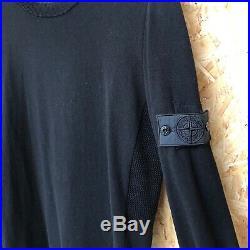 NEW £395 Stone Island Shadow Project crewneck jumper/sweater M MEDIUM black