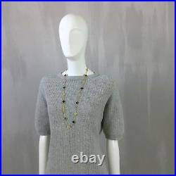 NEW Brunello Cucinelli Ladies LUREX Cashmere Knit Jumper Sweater Size XS US2