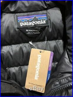 NEW Patagonia Down Sweater Jacket Black Medium M (Men's)