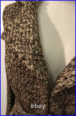 NO RESERVE Ralph Lauren Purple Label Cashmere Blend Sweater Coat NWT $3,298