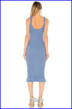 NWT $398.00 Intermix Ronny Kobo Miria Sweater Dress Sz. Medium