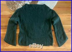 Nili Lotan Leyton Green Cashmere Sweater Size M